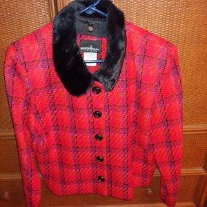 Jacket with fur Collar